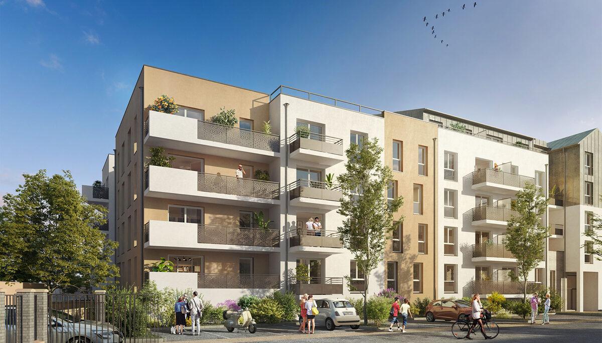 Appartement à vendre à Meaux . 55.6 m² . 3 pièces