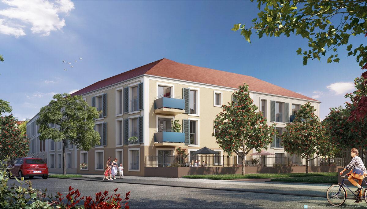 Appartement à vendre à Limours . 57.8 m² . 3 pièces
