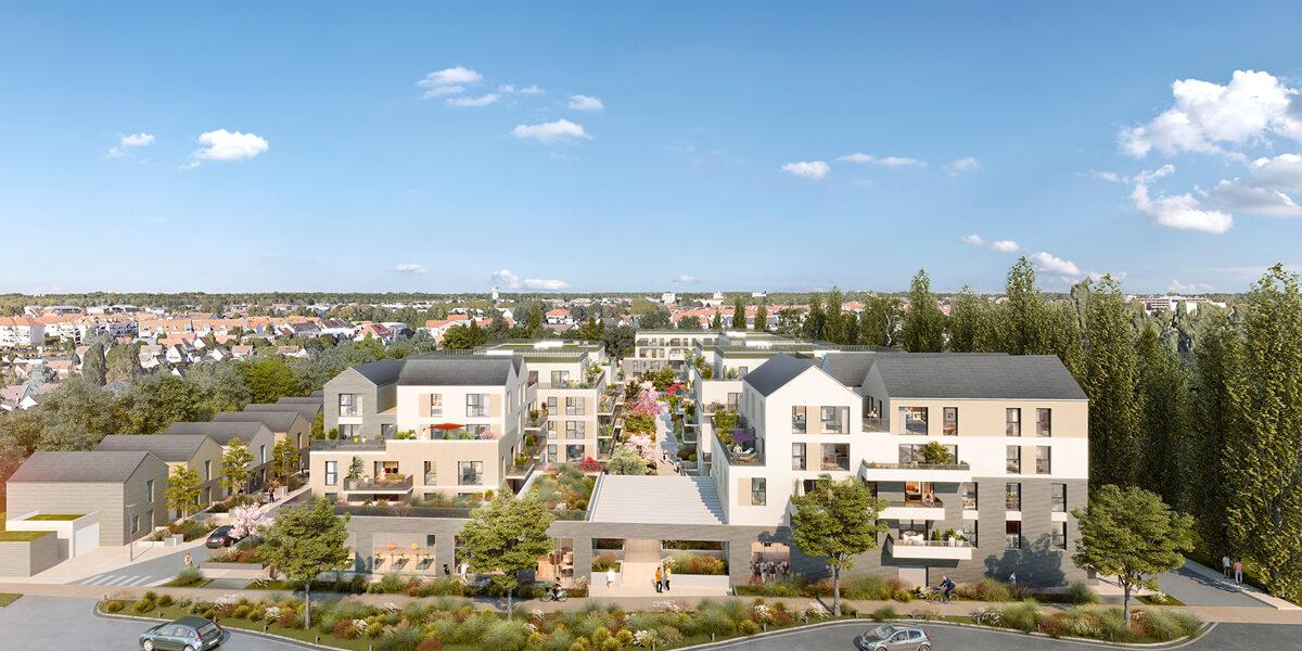 Appartement à vendre : Pontault-combault . 56.2 m² . 2 pièces