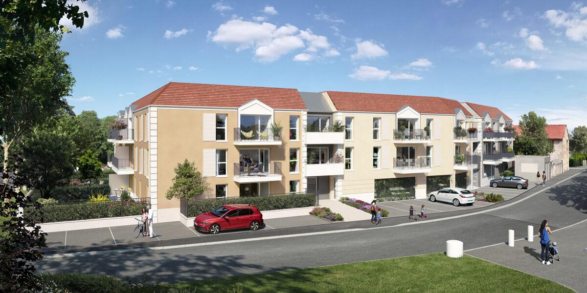 Appartement à vendre : Villabe . 57.3 m² . 3 pièces