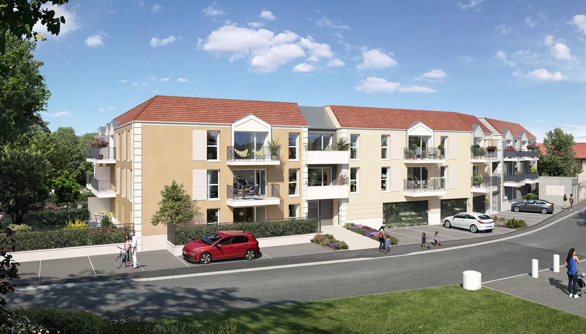 Appartement à vendre à Villabe . 40.1 m² . 2 pièces