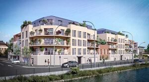 Programme immobilier neuf de 2 à 3 pièces Creil