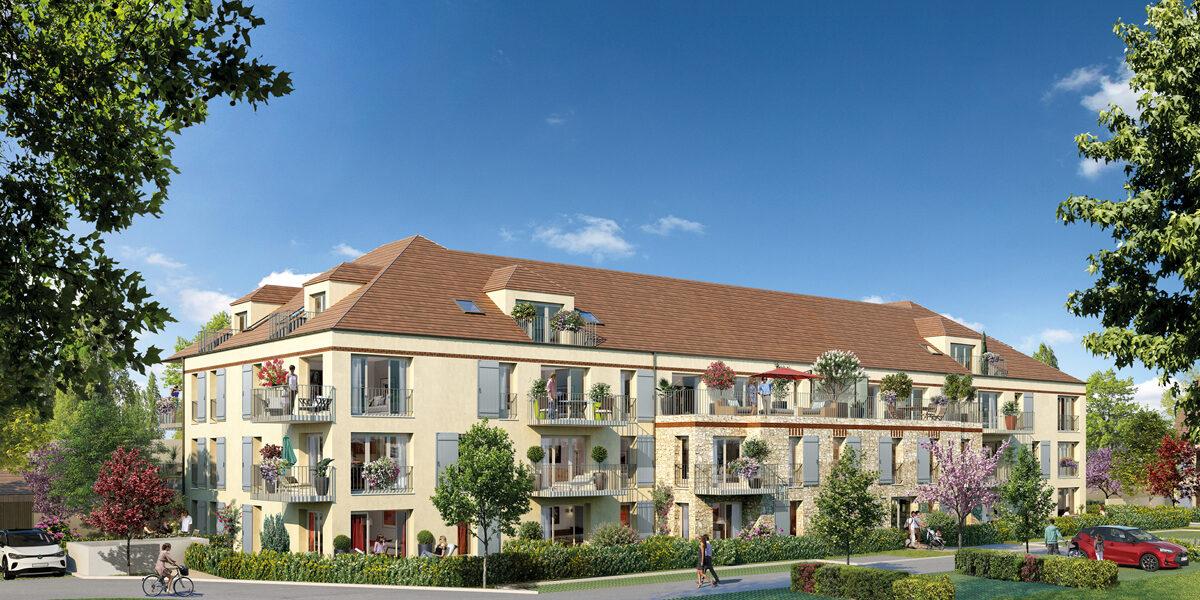 Appartement à vendre : Lamorlaye . 41.12 m² . 2 pièces