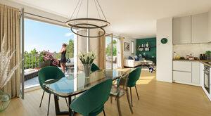 Programme immobilier neuf de 2 à 4 pièces Lamorlaye