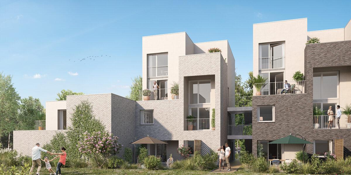 Appartement à vendre : Lille . 70.6 m² . 3 pièces
