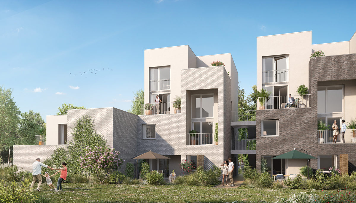 Programme immobilier neuf VILL'ARBOREA - LILLE