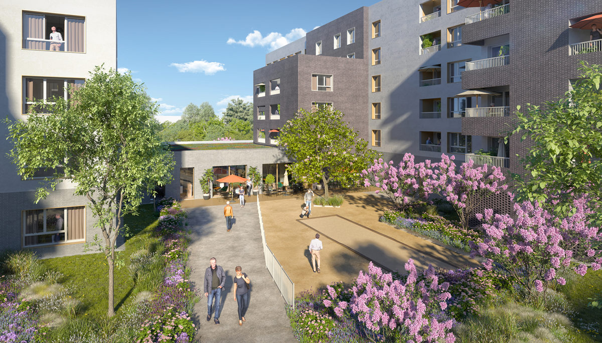 Programme immobilier neuf LILLE VILLA ULMA - LOMME