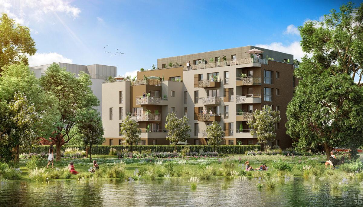 Appartement à vendre : Amiens . 41.55 m² . 2 pièces
