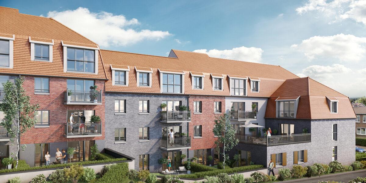 Appartement à vendre : Linselles . 59.92 m² . 3 pièces