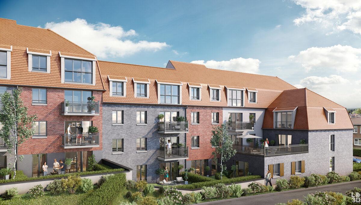 Appartement à vendre à Linselles . 40.86 m² . 2 pièces