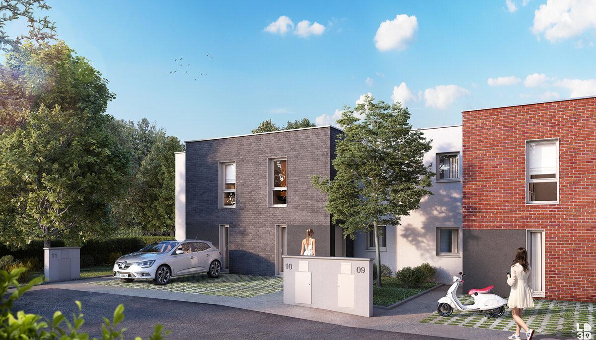 Appartement à vendre à Valenciennes . 41.5 m² . 2 pièces
