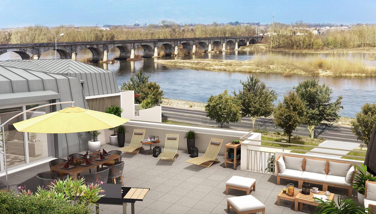 Appartement à vendre à Montlouis Sur Loire . 42.25 m² . 2 pièces