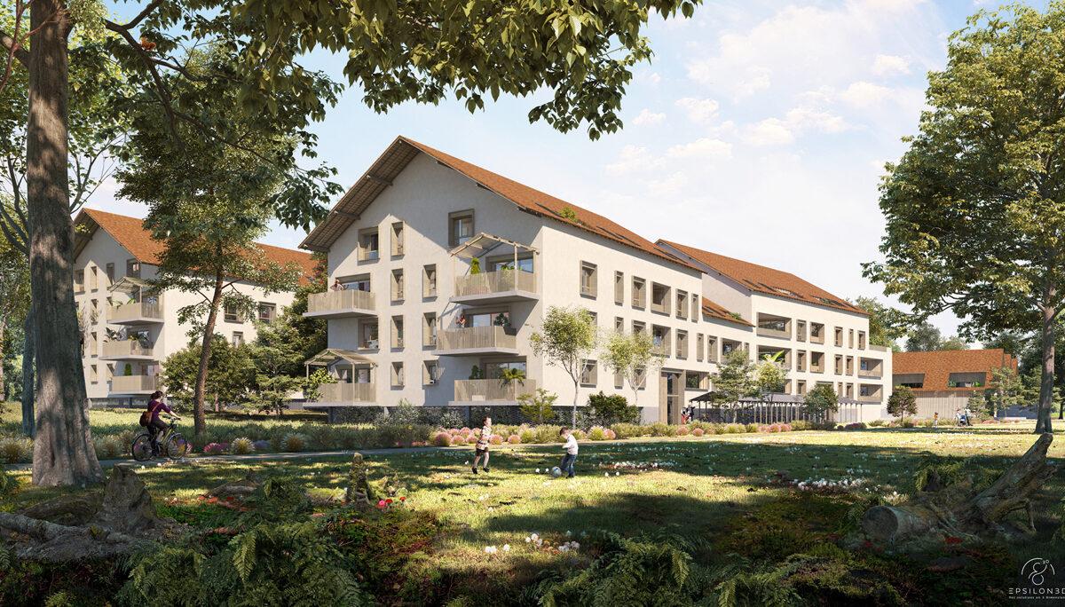 Programme immobilier neuf PARC' COEUR - TOURS