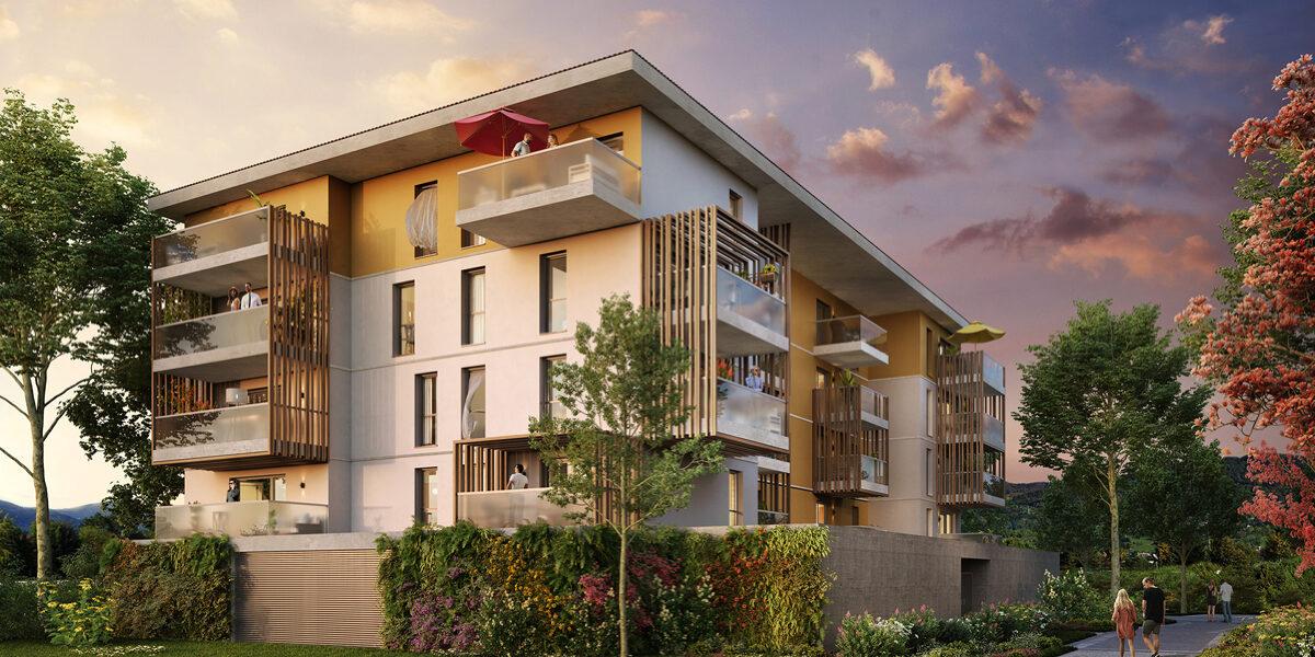 Appartement à vendre : Cluses . 41.47 m² . 2 pièces