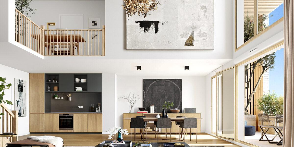 Appartement à vendre : Montreuil . 47.8 m² . 2 pièces