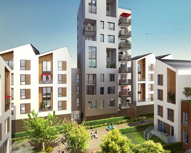 Appartement à vendre : Bordeaux . 87.6 m² . 4 pièces