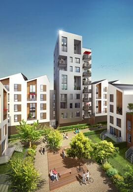 Programme immobilier neuf de 2 à 3 pièces Bordeaux