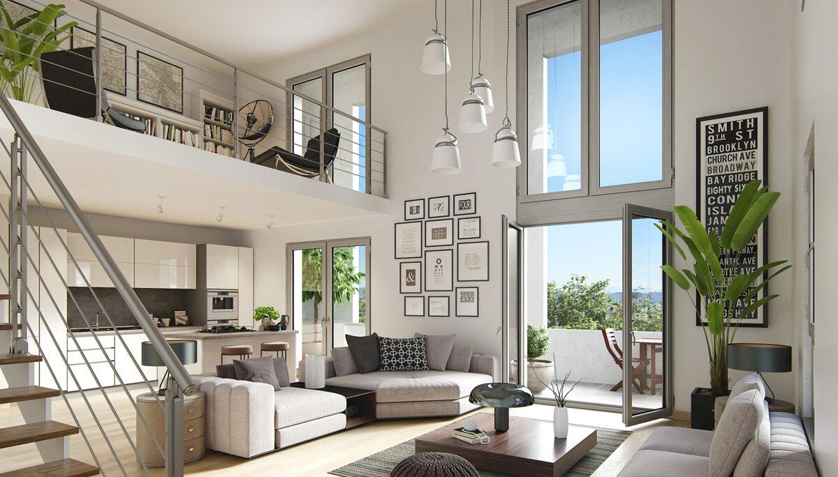 Appartement à vendre à Cergy . 61.19 m² . 3 pièces