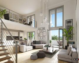 Programme immobilier neuf de 2 à 5 pièces Cergy