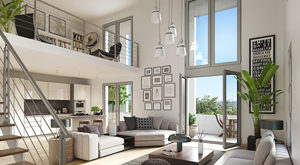 Programme immobilier neuf de 1 à 4 pièces Cergy