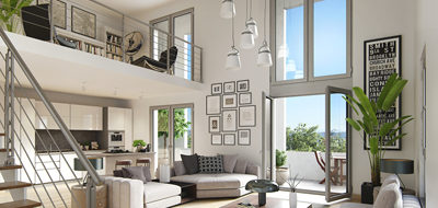 Programme immobilier neuf de 1 à 5 pièces Cergy