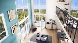 Programme immobilier neuf de 1 à 4 pièces Poissy
