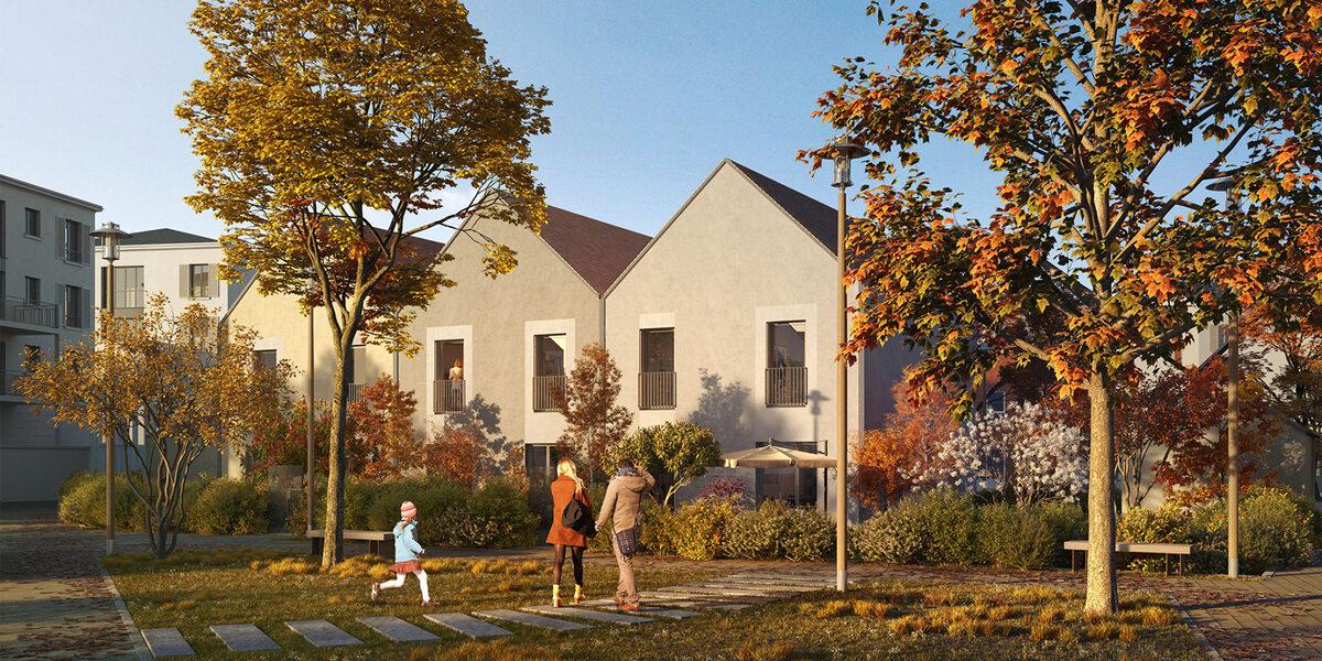 Appartement à vendre : Coupvray . 35.7 m² . 2 pièces