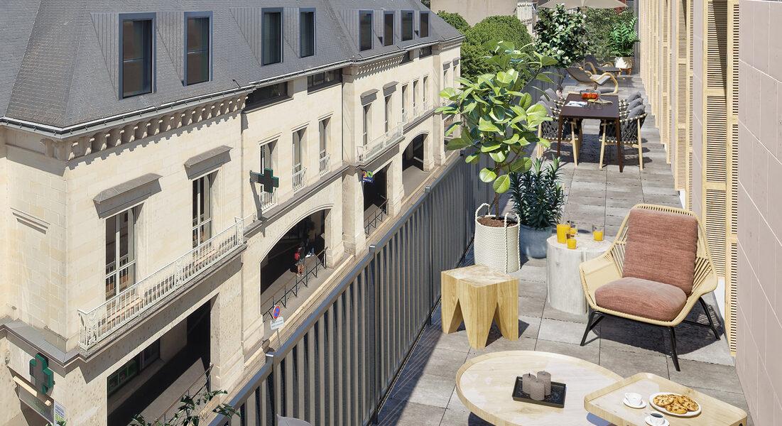 Appartement à vendre : Tours . 39.44 m² . 2 pièces