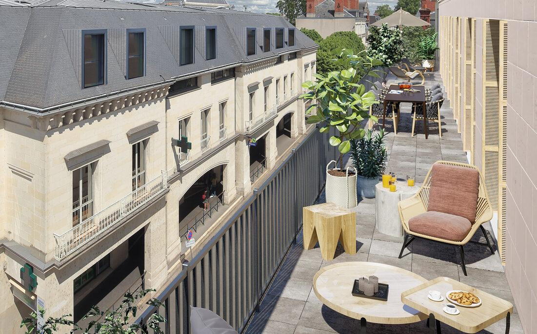 Appartement à vendre à Tours . 44.51 m² . 2 pièces