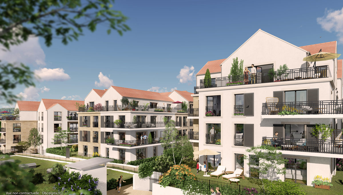 Programme immobilier neuf RESIDENCE CONCORDE - CHAMBOURCY