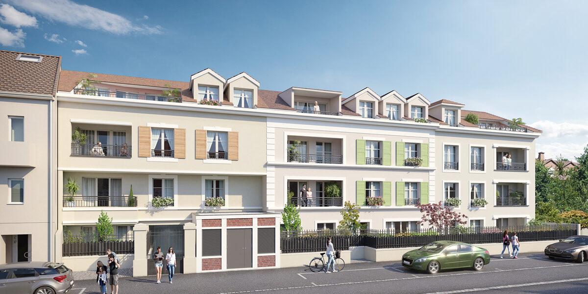 Appartement à vendre : Saint-leu-la-foret . 29.74 m² . 1 pièce / studio