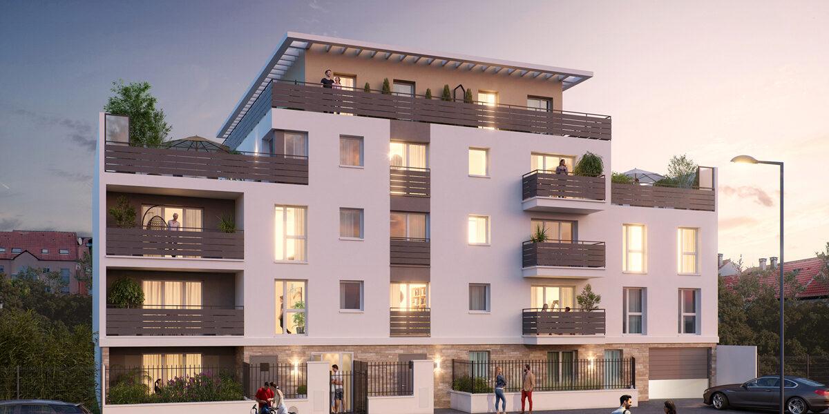 Appartement à vendre : Montmagny . 41.75 m² . 2 pièces