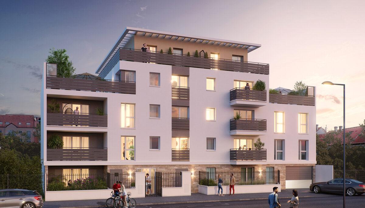 Appartement à vendre à Montmagny . 40.6 m² . 2 pièces