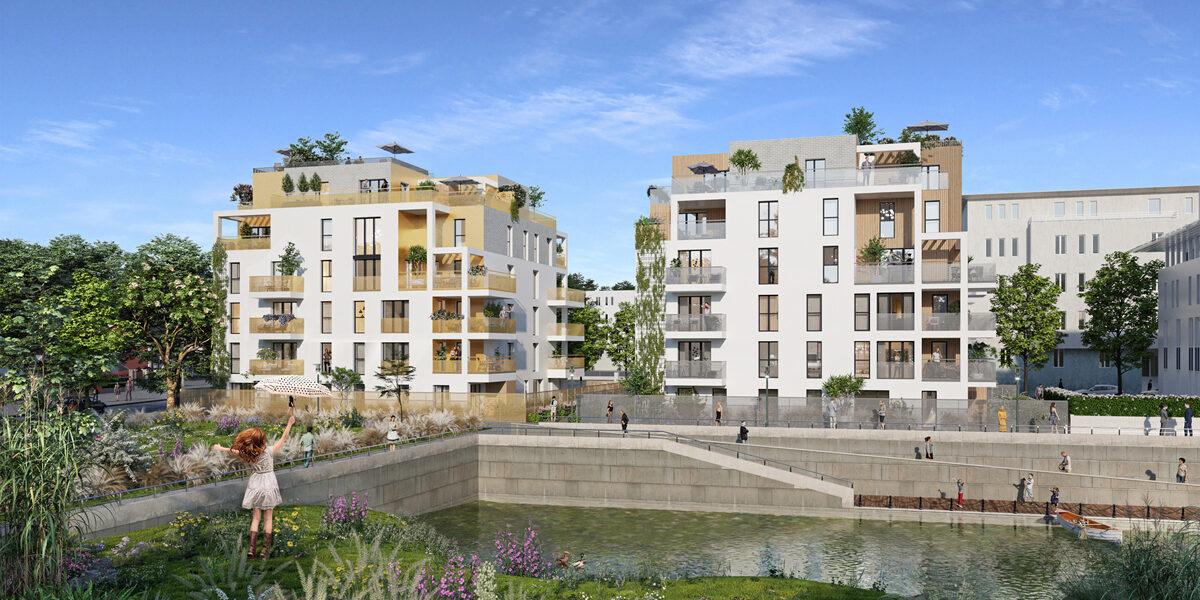 Appartement à vendre : Guyancourt . 41.56 m² . 2 pièces