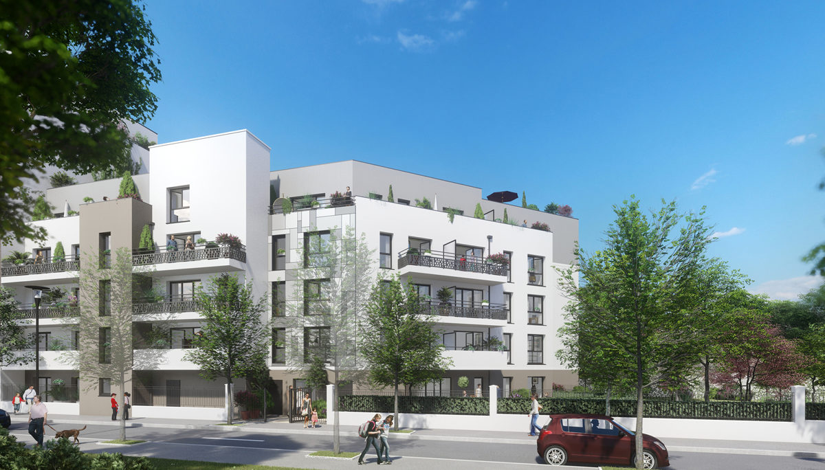 Programme immobilier neuf GREEN PARK - CHAMPIGNY SUR MARNE