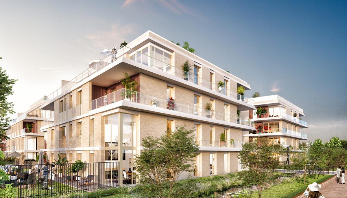 Programme immobilier neuf 2 PRIEURE - ST GERMAIN EN LAYE