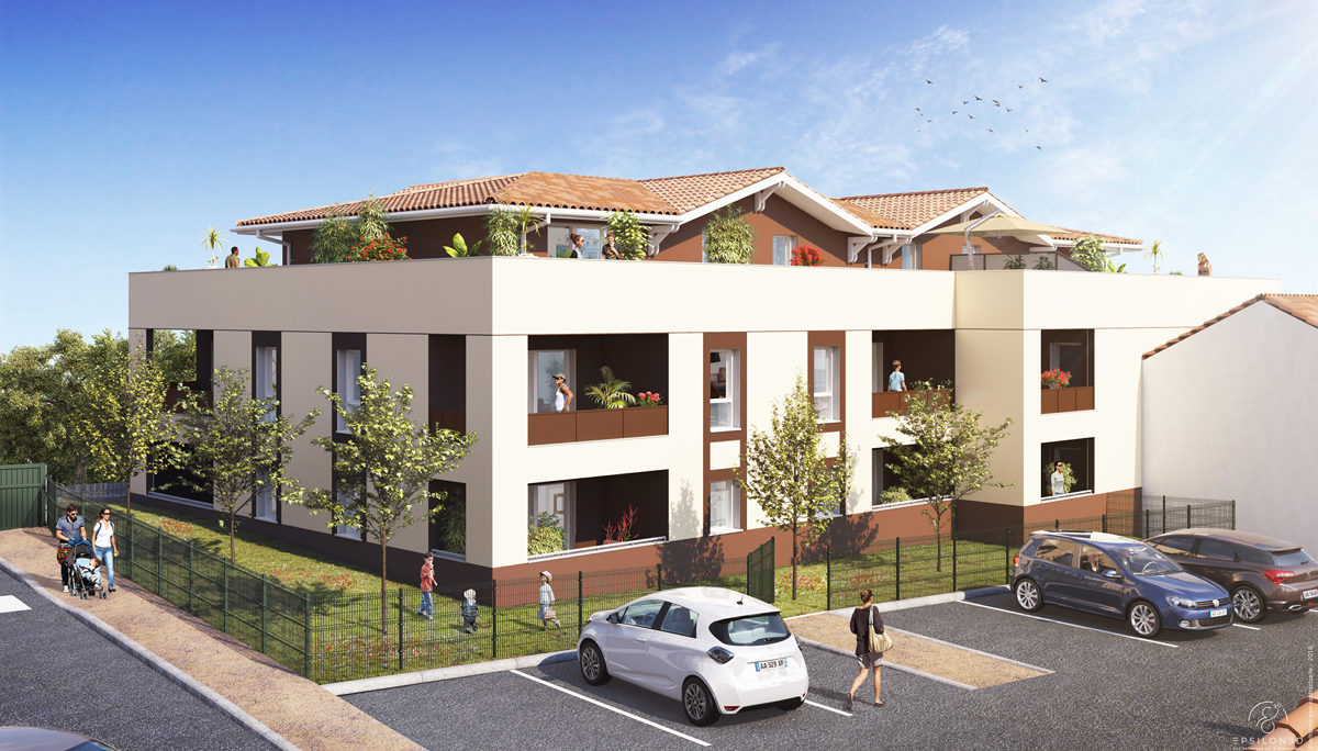 Programme immobilier neuf BULLE D'EYRE - SALLES