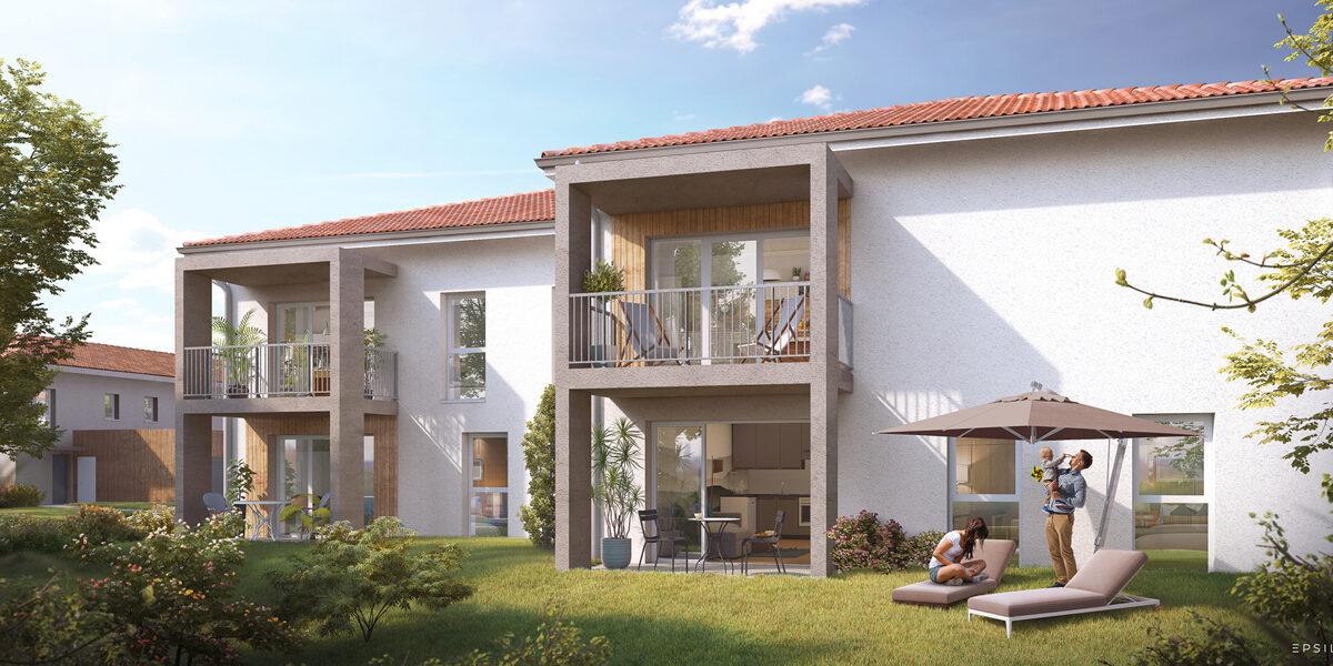 Appartement à vendre : Saint-pierre-du-mont . 33.94 m² . 2 pièces
