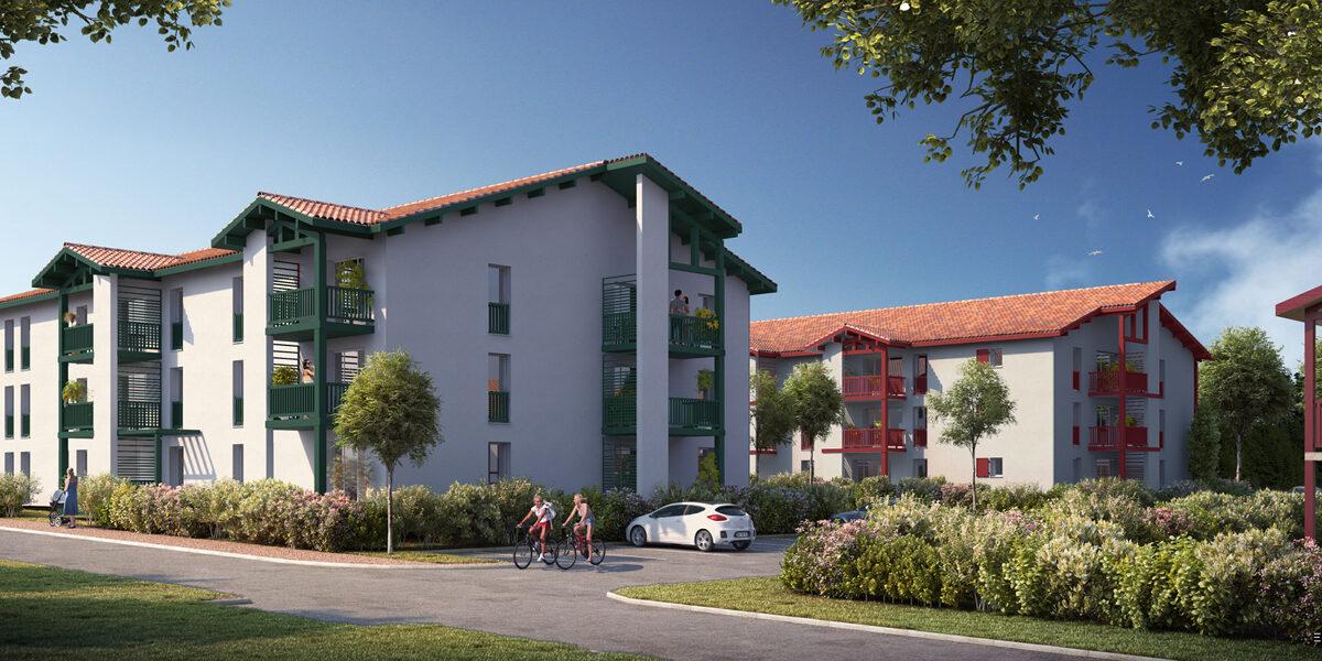 Appartement à vendre : Saint-palais . 43.84 m² . 2 pièces