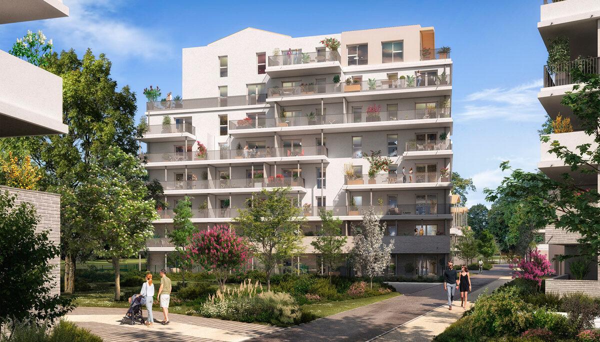 Appartement à vendre : Toulouse . 62.3 m² . 3 pièces