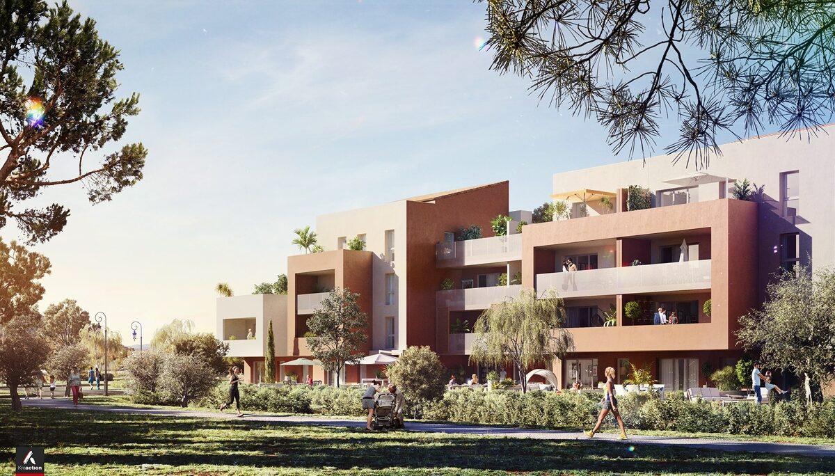 Programme immobilier neuf A FLEUR DE VILLE - LA FARLEDE