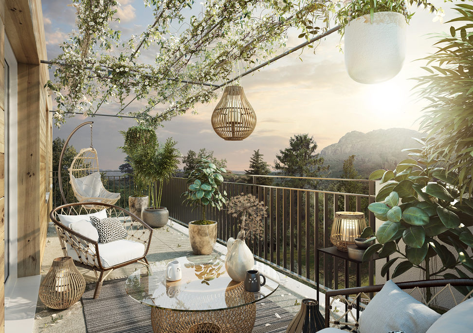 Programme immobilier neuf DOMAINE TERRE ROUGE - LE MUY