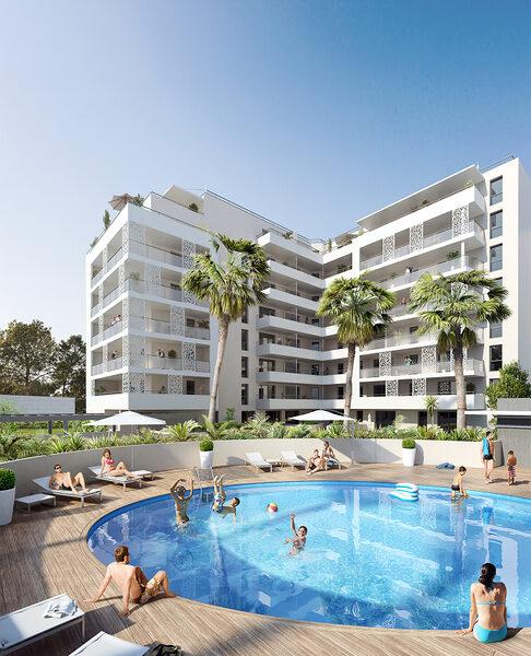 Appartement à vendre : Marseille-8 . 22.16 m² . 1 pièce / studio