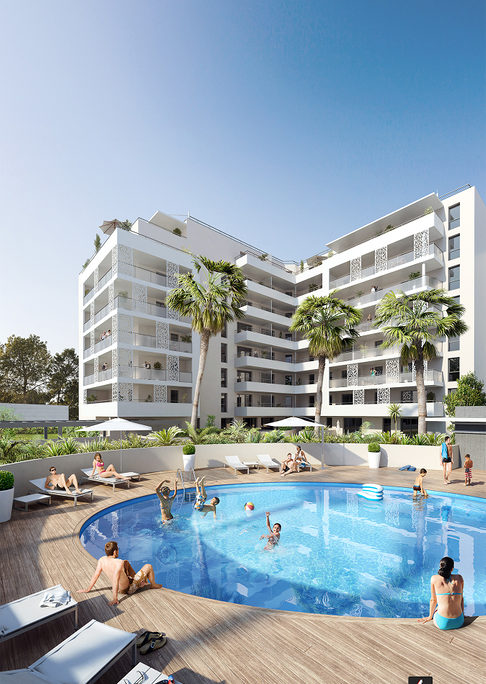 Programme immobilier neuf MEE VUES - MARSEILLE 08