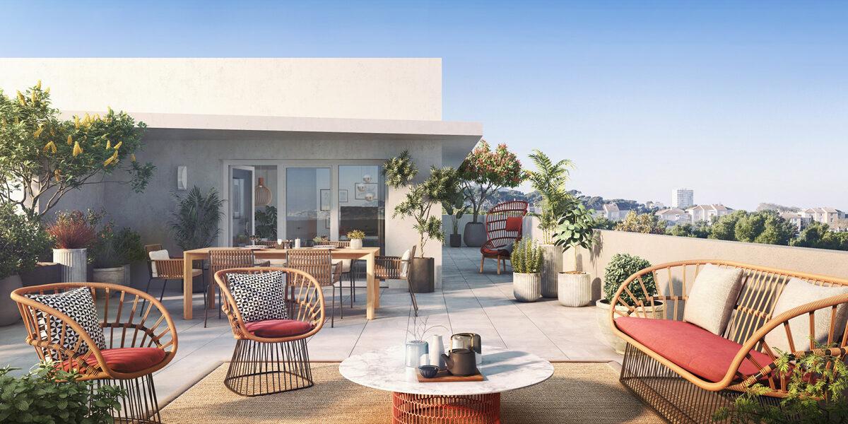 Appartement à vendre : Marseille-13 . 40.63 m² . 2 pièces