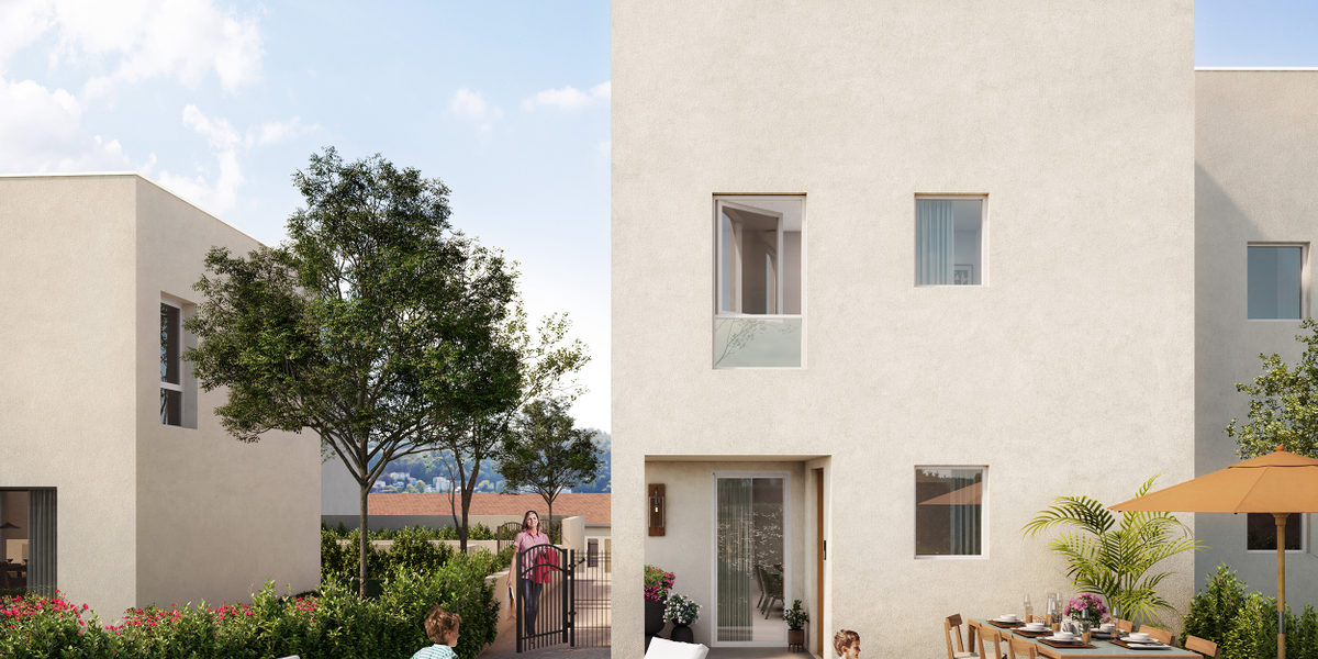 Appartement à vendre : Vienne . 38.35 m² . 2 pièces