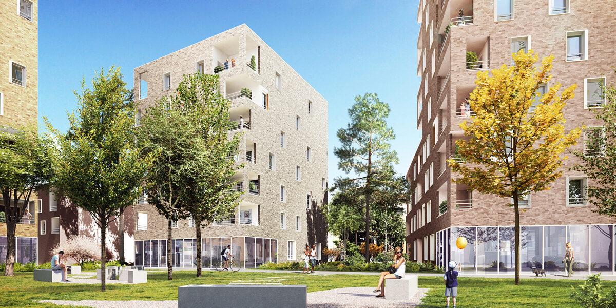 Appartement à vendre : Villeurbanne . 50 m² . 2 pièces