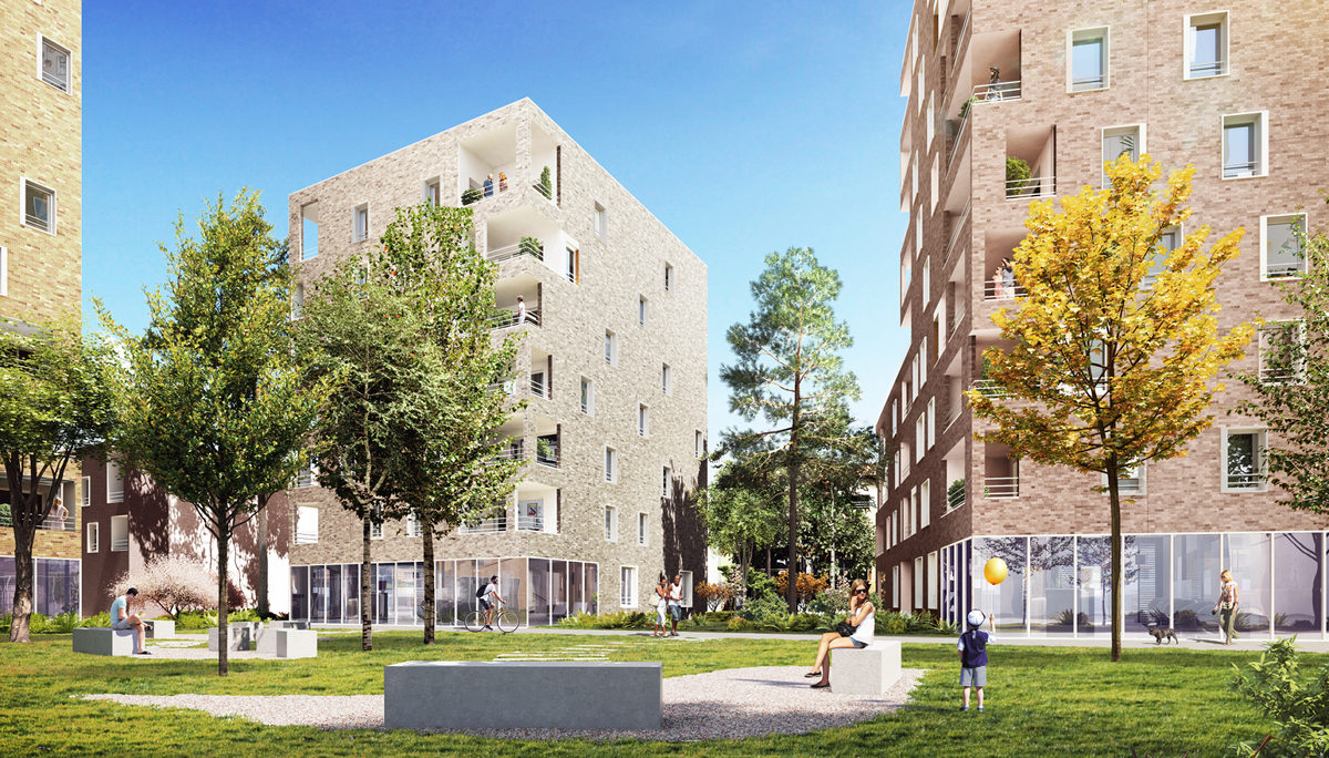 Appartement à vendre à Villeurbanne . 31 m² . 1 pièce / studio