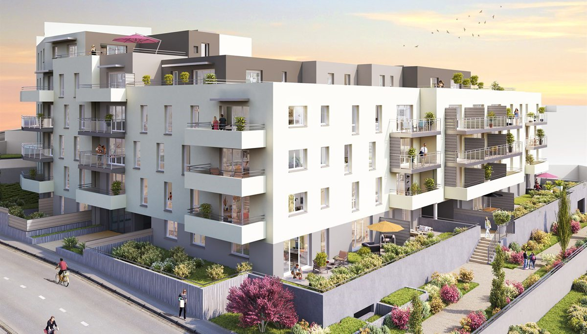 Programme immobilier neuf SUN SIDE - CLERMONT FERRAND