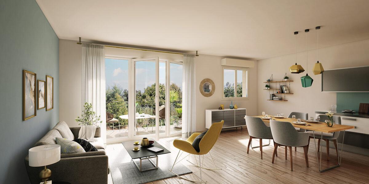Appartement à vendre : Francheville . 42.89 m² . 2 pièces